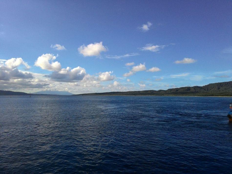 Between bali island n java island Onboat Baliisland Javaisland Sea View Seascape Loveplace