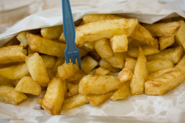 Chips Takeaway Food Street Food Street Food Worldwide