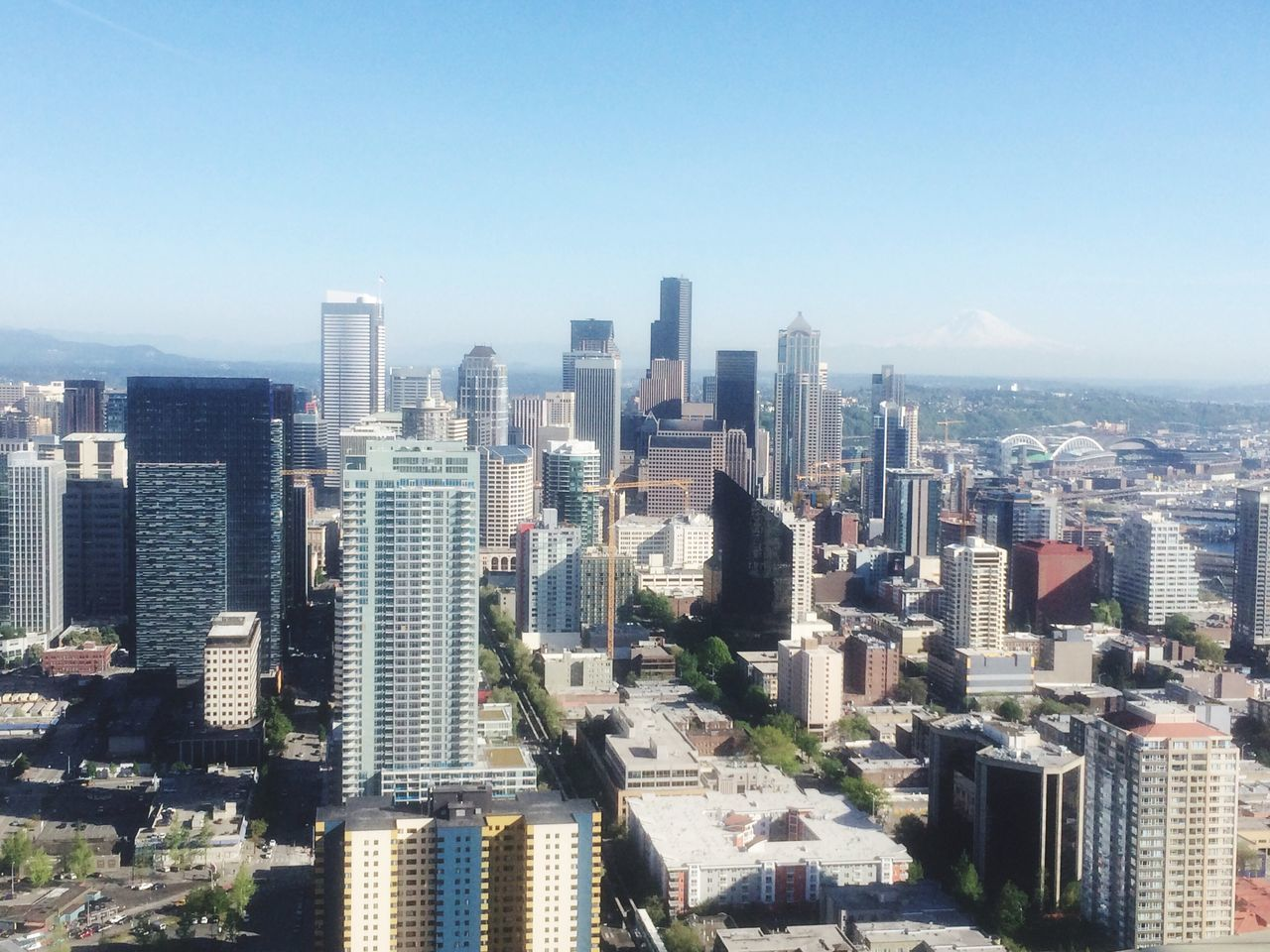 Beautiful stock photos of seattle,  Aerial View,  Building Exterior,  Built Structure,  City