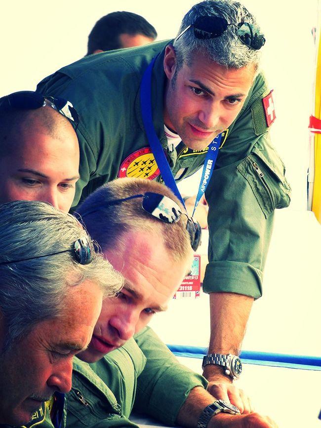 Pilots Airpower 2013 Patrouille De Suisse