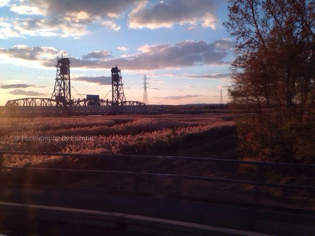 view of the Meadowlands from my Daily Commute EyeEm New Jersey