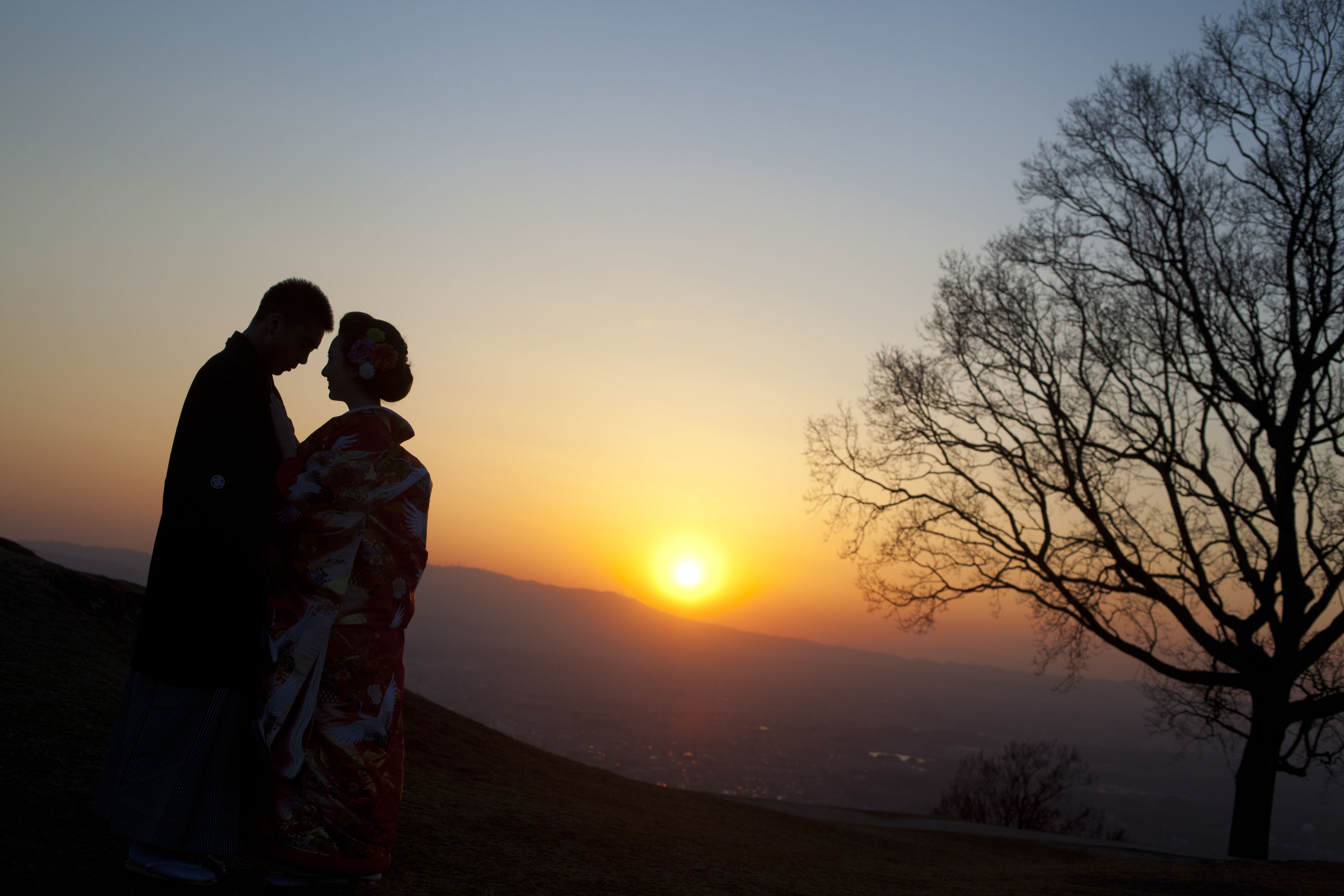 two people, togetherness, sunset, love, leisure activity, couple - relationship, lifestyles, romance, real people, bonding, beauty in nature, tree, men, nature, friendship, scenics, outdoors, sky, sun, people, day, adult