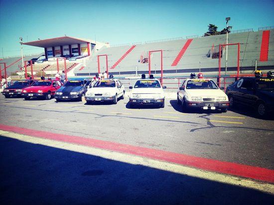 club del ford sierra. clasificacion en el Galvez