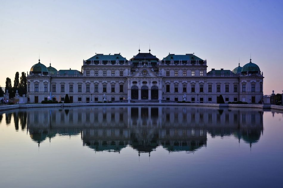 Palace Belevedere Landscape Water Reflections Darkness And Light Taking Photos The Great Outdoors - 2015 EyeEm Awards EyeEm Best Shots Popular Photos Amazing Architecture