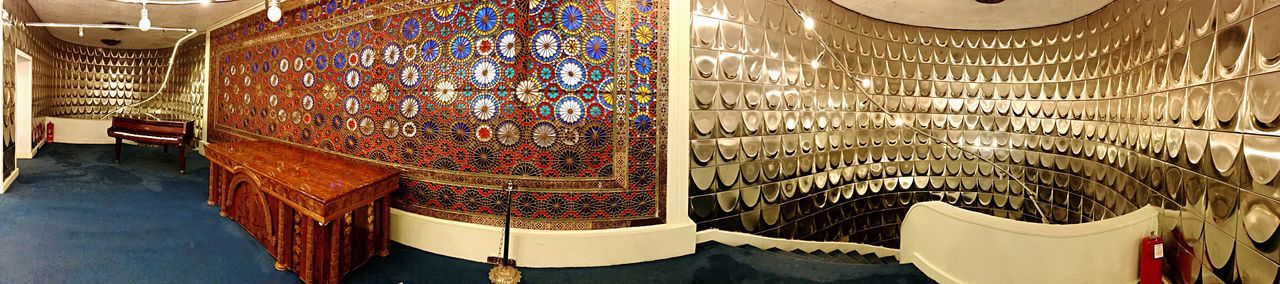 Pattern No People Indoors  Low Angle View Decorative Art Day Contrast between Modern Architecture and Traditional Architecture Tehran Iran Travel Destinations Architecture Panaroma National Landmark Panaromic Photos Panaromic View Panaroma Photography Built Structure Wall Personal Perspective My View Indoors  Museum Illuminated