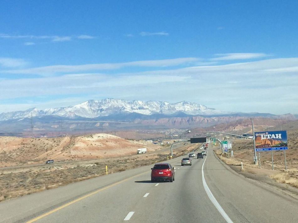 Utah usa Transportation Road On The Move The Way Forward Highway