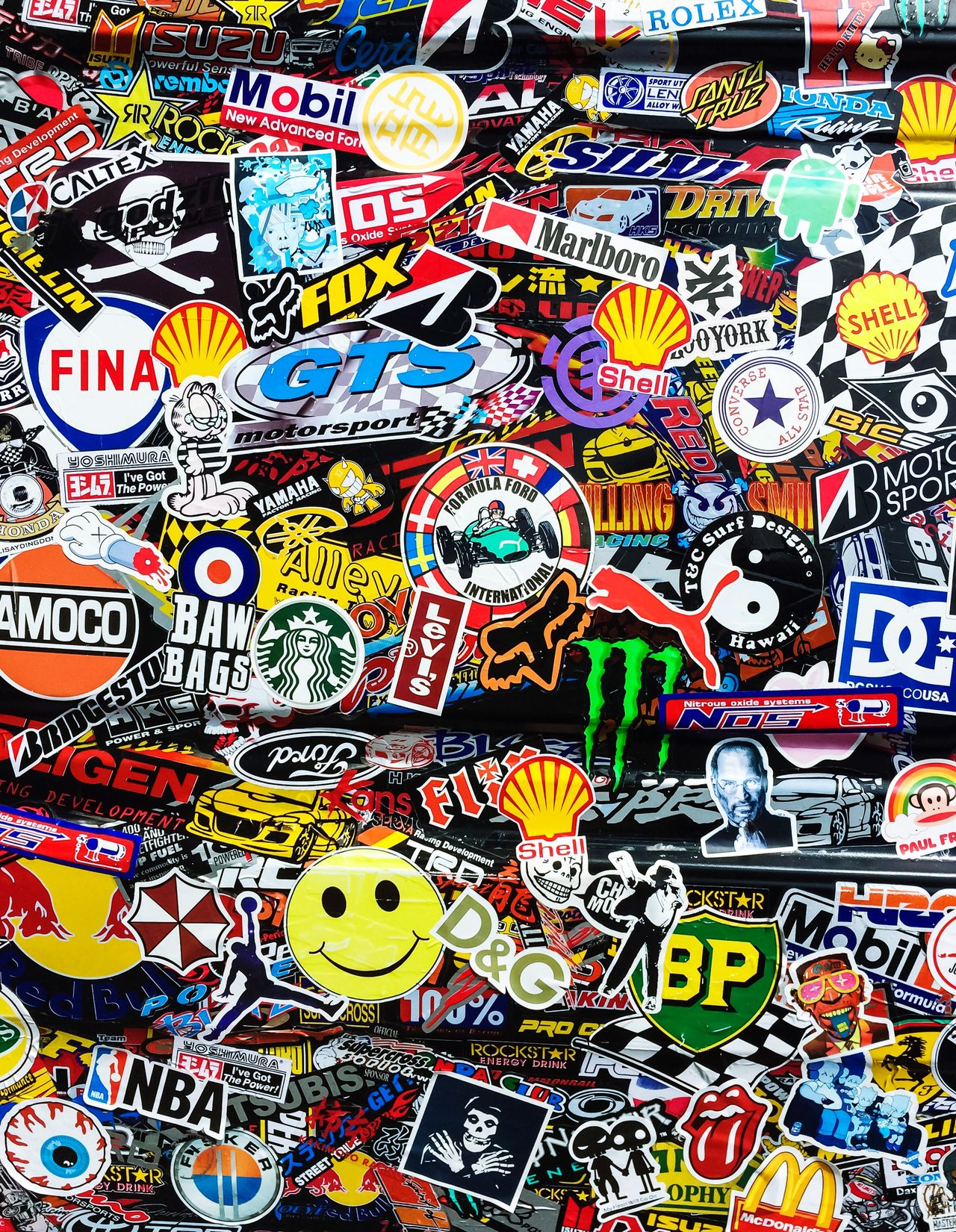 Stickerfest Sticker Decals Brands  Colorful