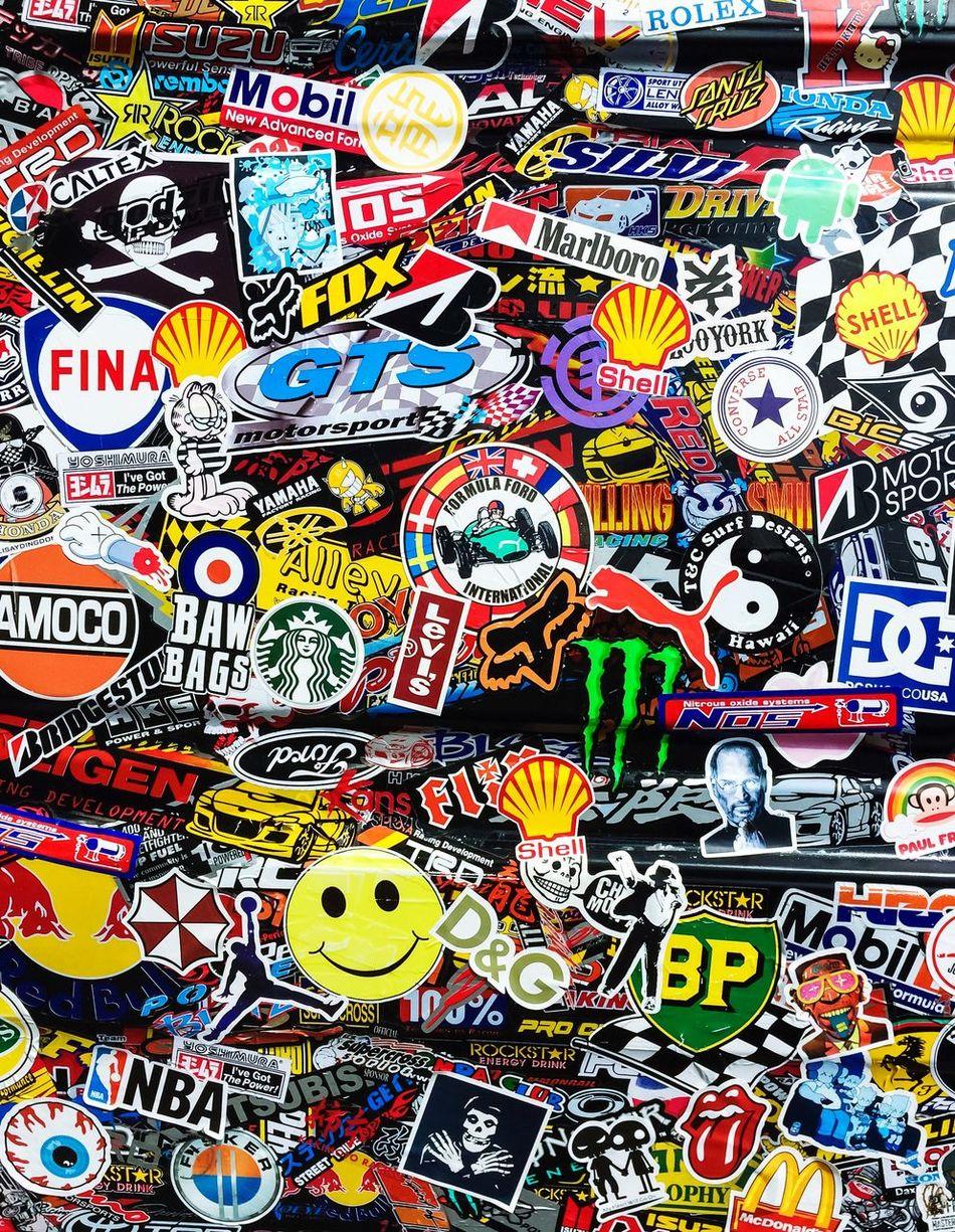 Stickerfest Sticker Decals Brands  Colorful