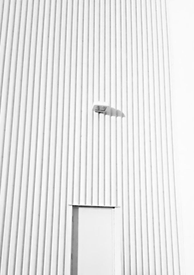 White On White Urban Exploring Building Exterior Rippled Vibrant Color Urban Photography Repetition Photography No People From My Point Of View ColorVibe Man Made Object Monochrome Full Frame Lines Creativity Corrugated Iron Outdoors Mobile Photography Architectural Feature EyeEm Best Shots Architecture Nobody White Wall Monochrome Photography