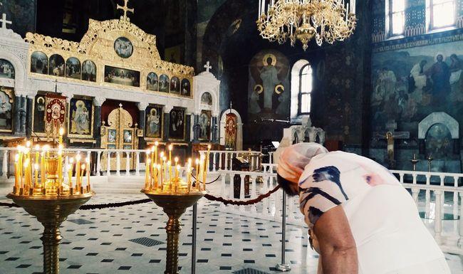 Submission to the Lord. Kiev Kiev Ukraine Kiev_ig Kievgram Pecherska Lavra Church Church Cathedral Orthodox Church Prayer Praying