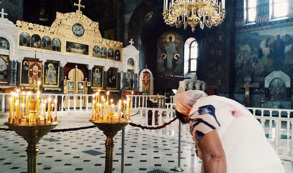 Submission to the Lord. Kiev Kiev Ukraine Kiev_ig Kievgram Pecherska Lavra Church Church Cathedral Orthodox Church Prayer Praying Snap a Stranger Handmade For You Women Around The World