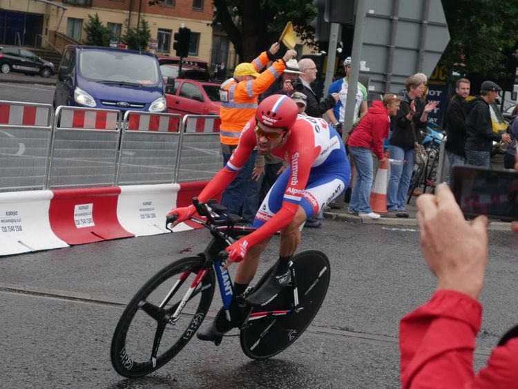 Time Trialling Bristol Tob2016 Tour Of Britain Cycling Time Trial Netherlands