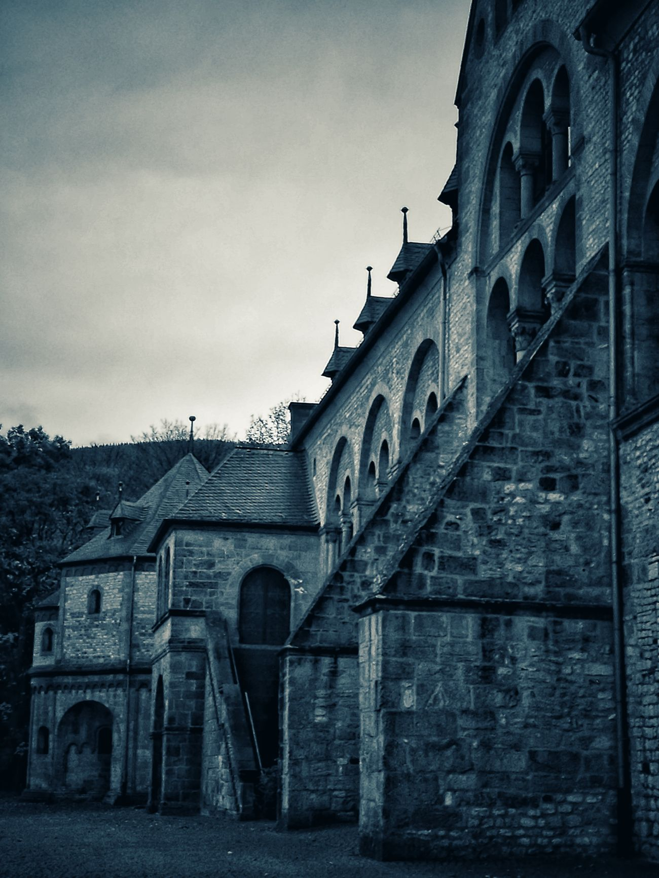 Architecture Building Exterior Built Structure Sky Outdoors No People Day Goslar Monochrome Photography