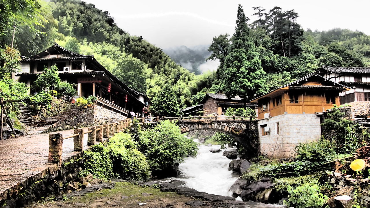 Scenery Linkeng Zhejiang,China Village EyeEm Gallery Landscape EyeEm Dramatic Tone Olympus