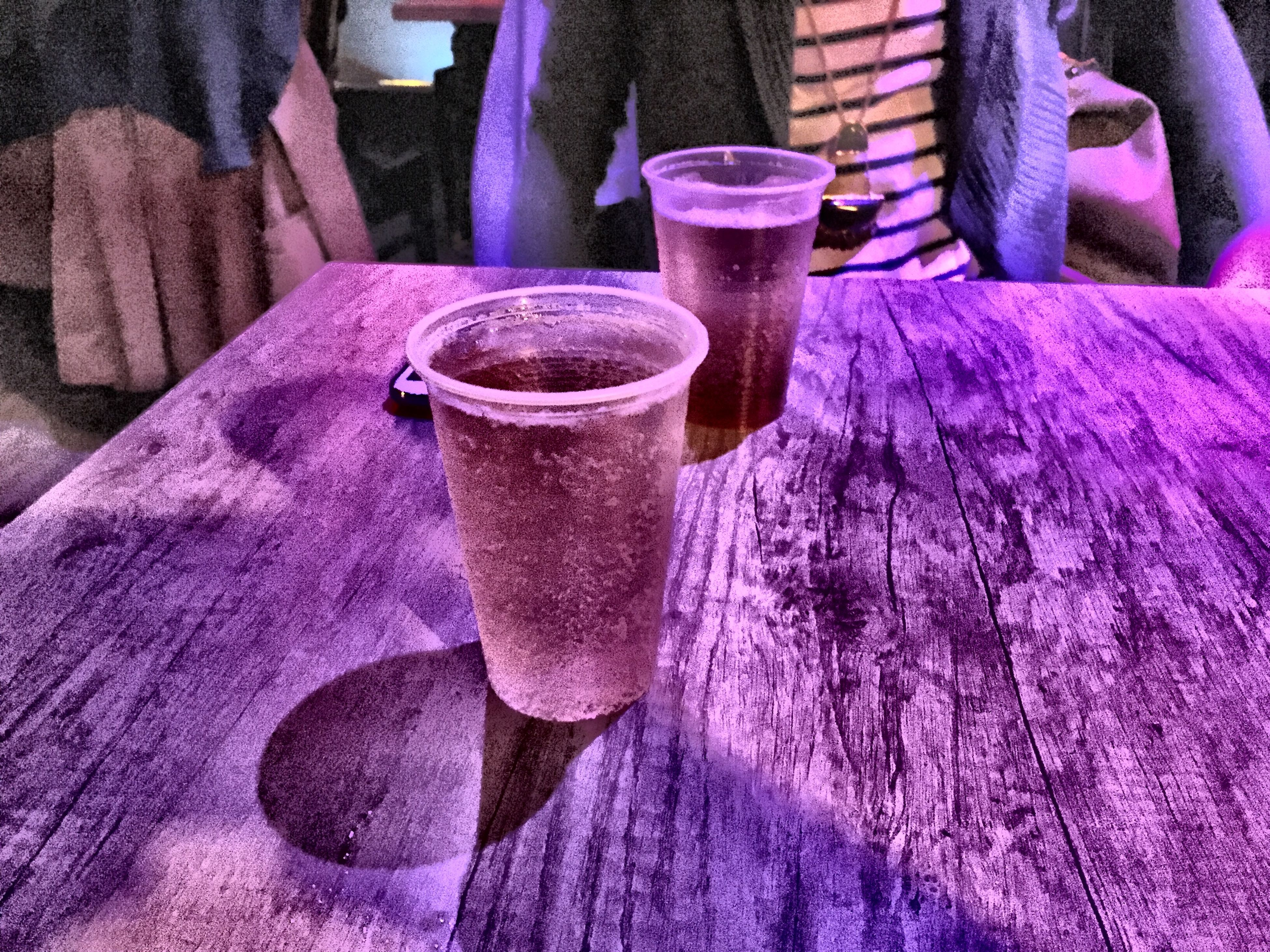 indoors, still life, close-up, food and drink, table, freshness, drink, high angle view, refreshment, textile, wood - material, low section, blue, fabric, drinking glass, no people, wooden, person, part of, selective focus