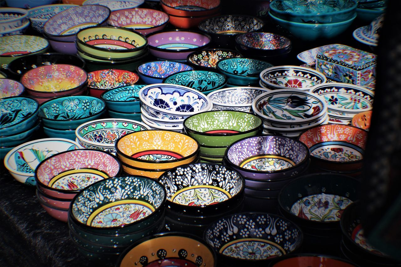 Bazaar Ceramics Choice Colour Of Life Colours Day Eye4photography  EyeEm EyeEm Gallery Food Freshness Full Frame Large Group Of Objects Market Market Stall Multi Colored No People Outdoors Photography Popular Popular Photo Popular Photos Taking Photos Travel Destinations Variation