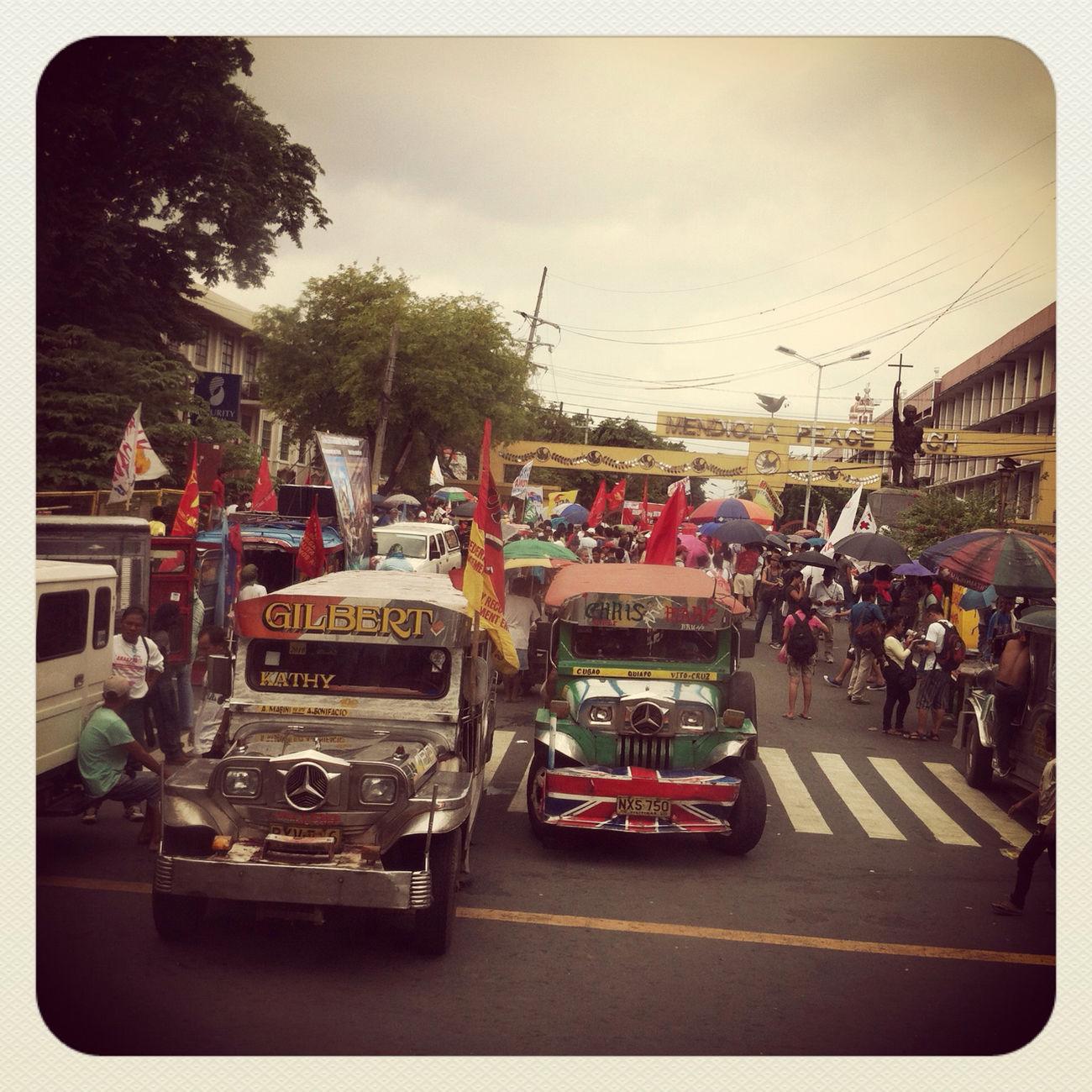 Living In Manila