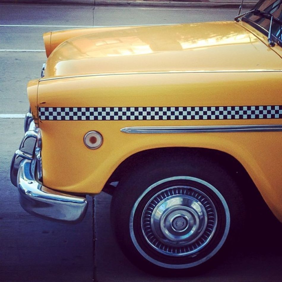 Checker Cabs Taxis Cars Taxicabs