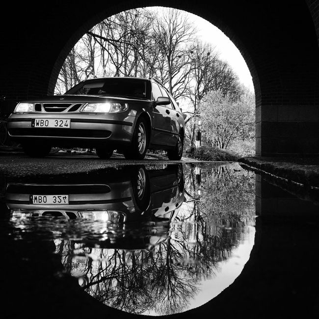 Blackandwhite Monochrome Bw_collection Streetphotography Car