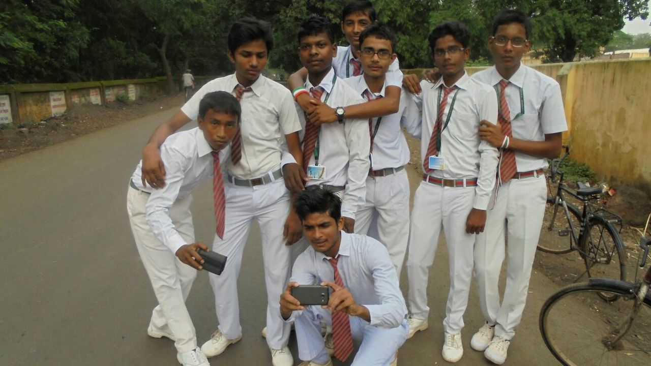 The Color Of School My Buddies :)