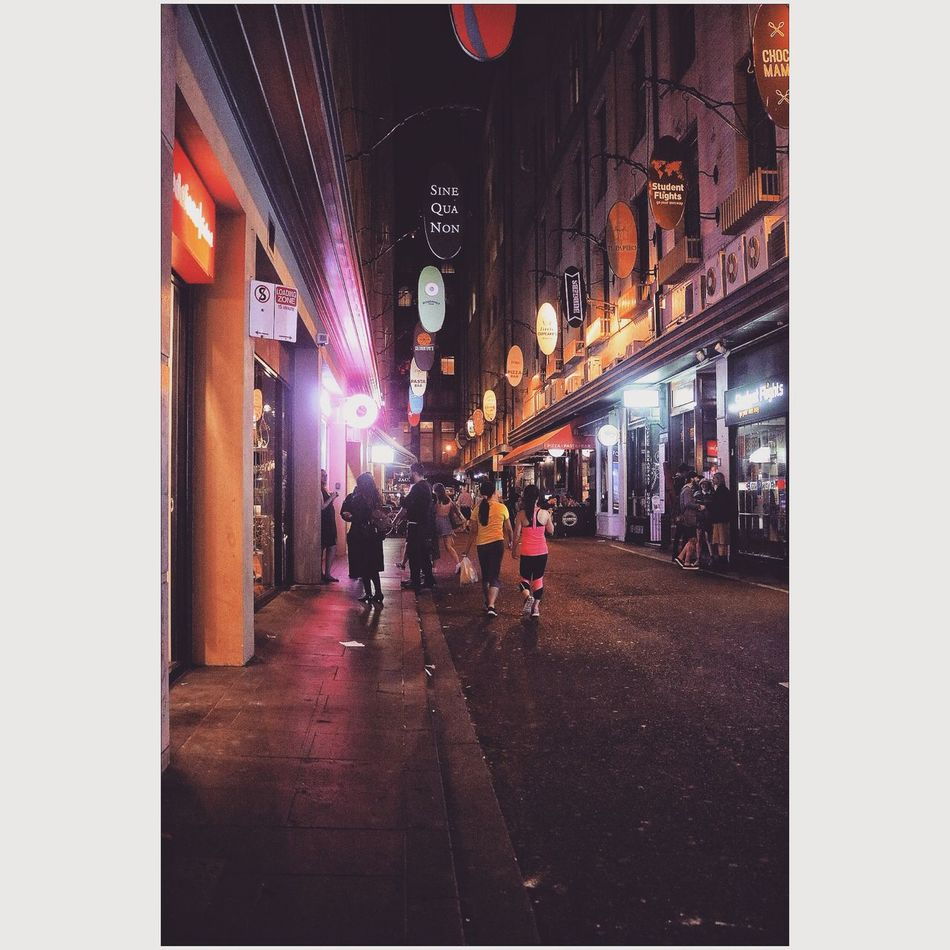 Latenightsnack Flinders St #Melbourne People Photography Night Lights Nightview Foodie