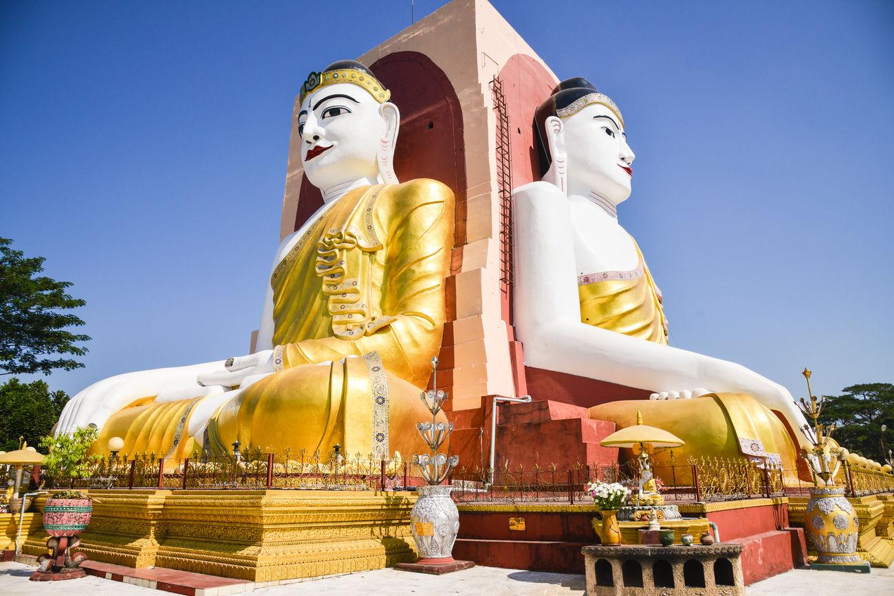 Bago Birmania Budda Budda Statue Burma Myanmar Myanmar View Myanmarphotos Pagoda Pegu Temple