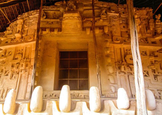 Acropolis Altar Archaeological Sites Architecture Black Jaguar Ek Balam Façade Fangs History Limestone Mayan Mayan Ruins Mayan Wonders Mortar Ruins Stucco Tomb Weathered Yucatan Mexico Yucatan Peninsula Yúcatan