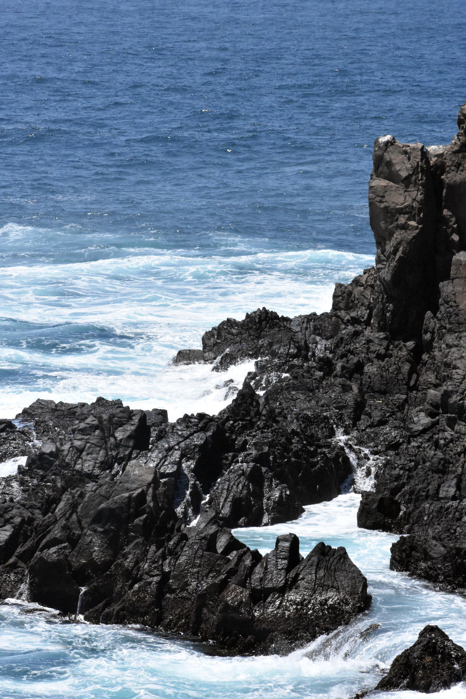 Beauty In Nature Blue Blue Wave Ensenada Ensenada B.C. Landscape Ensenada Mexico Nature Nature Nature Photography Nature_collection No People Rock Formation Rok Sea Seascape Tranquility Water Watter Watter_collection Watterfall Watterfalls Wave