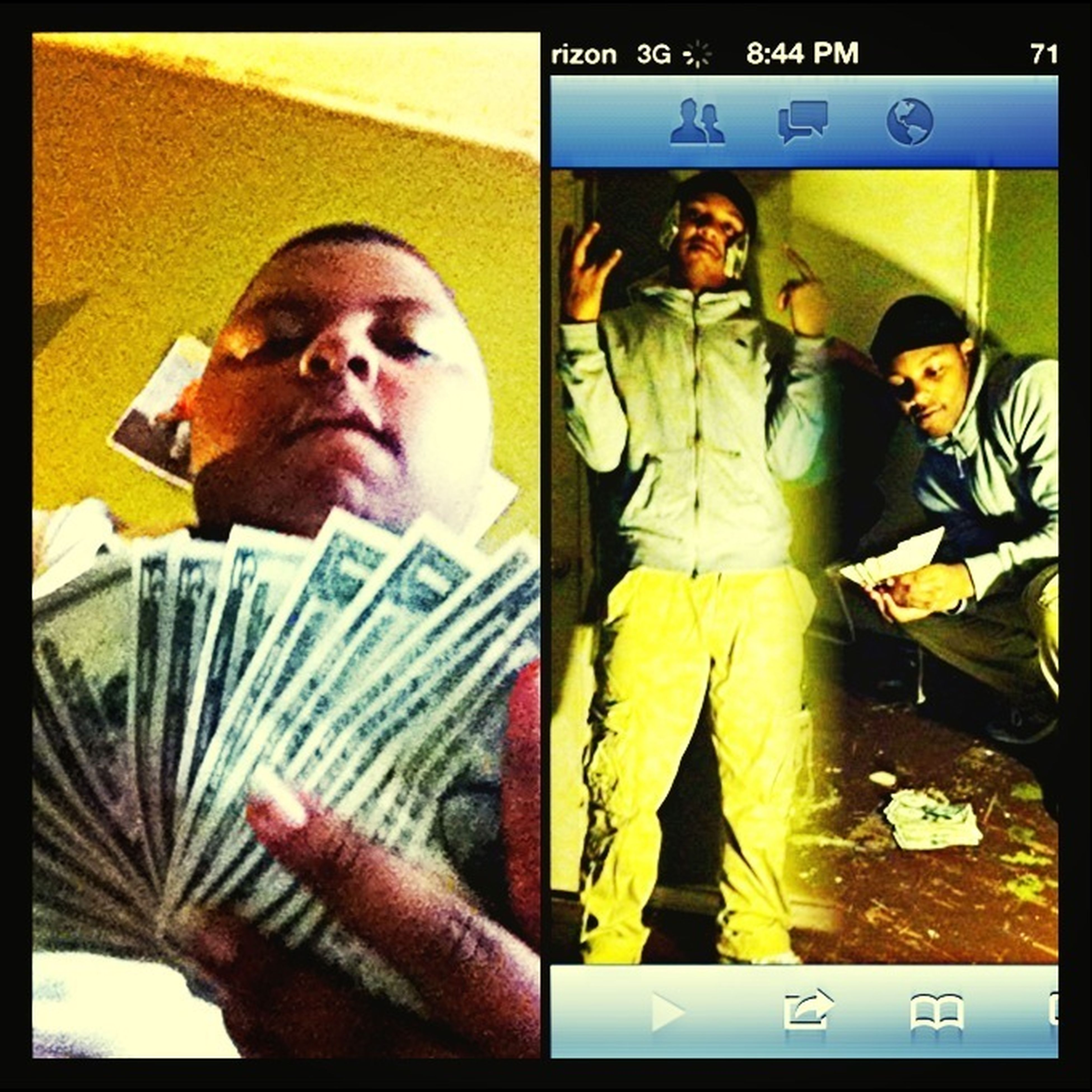 Dey Say Me And My Lil Brova Scrap Doin Number Around Da Yo