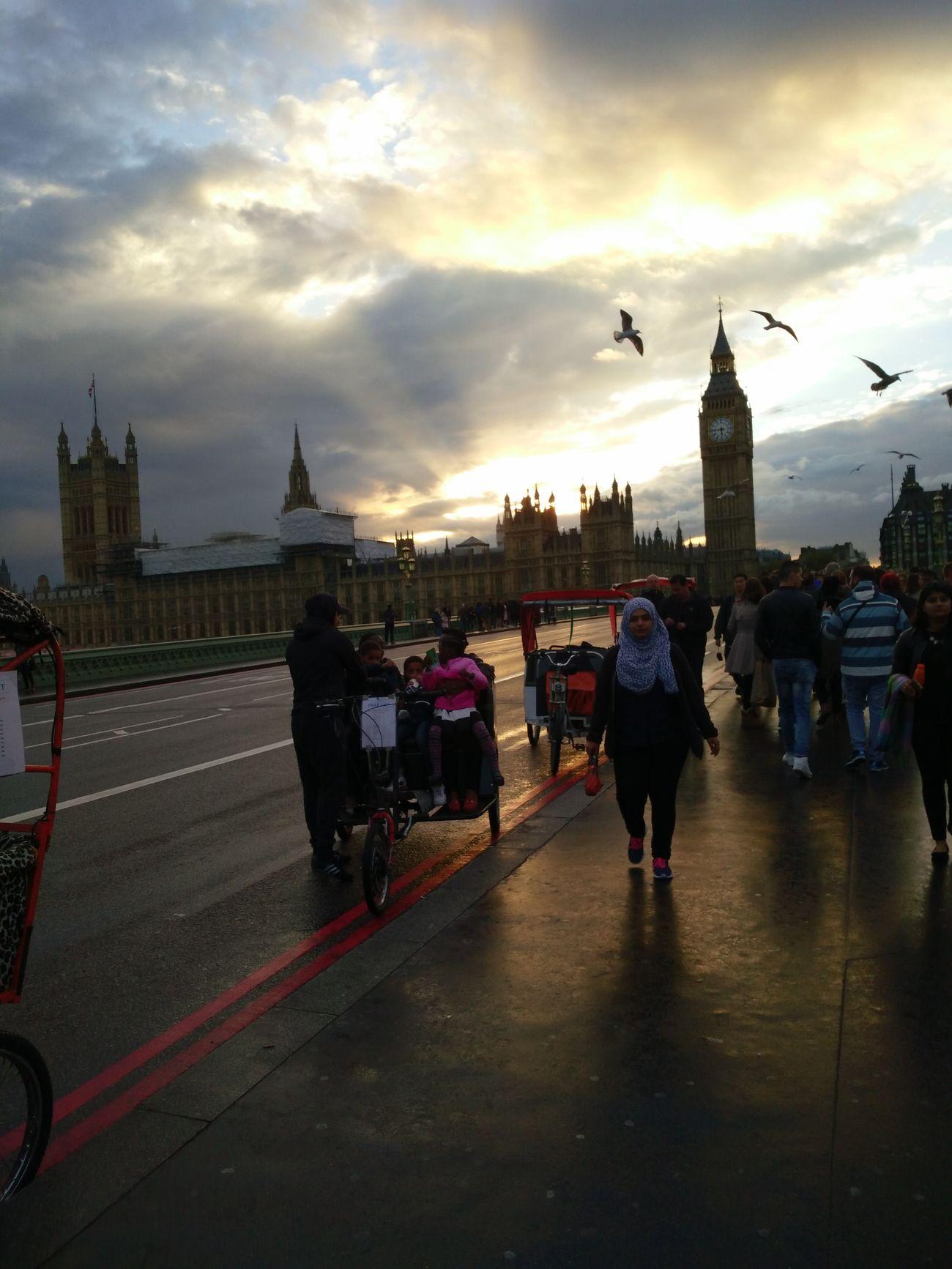 Big Ben Westminster Evening Walk Natural Light Travel Destinations