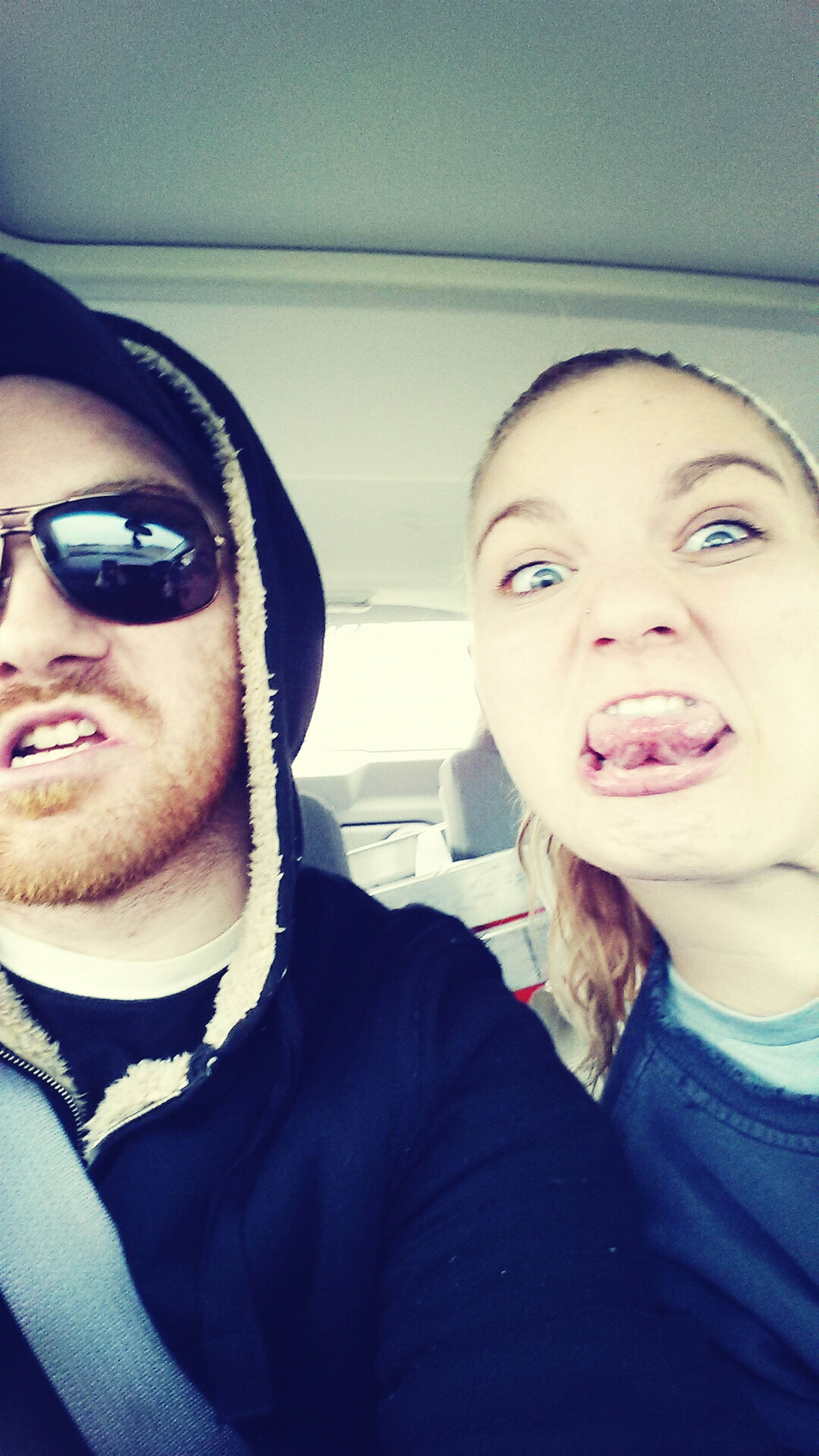 Me and sis being losers
