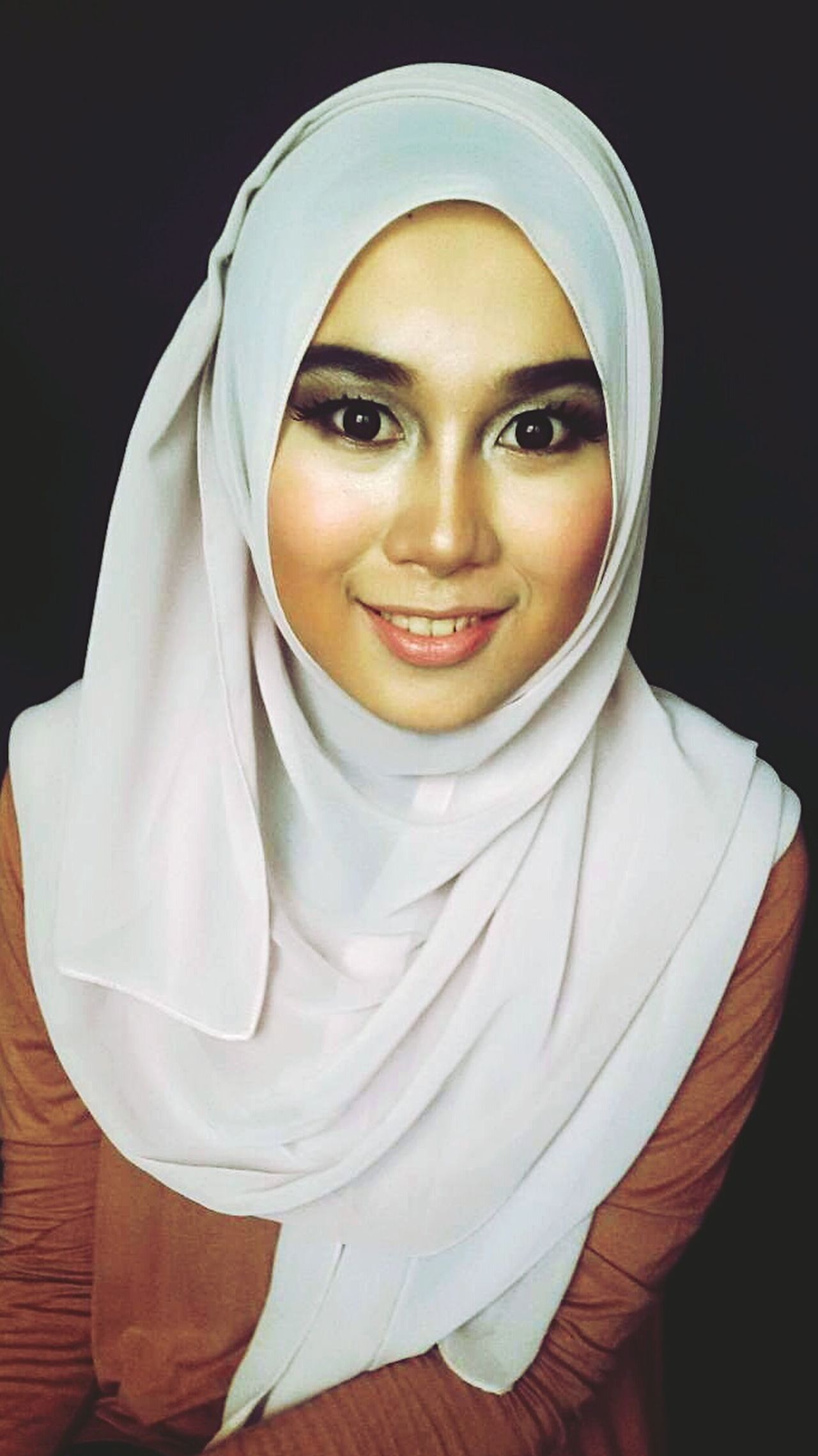 Smile Hijab Pretty Girl Simple Beauty Makeupartist