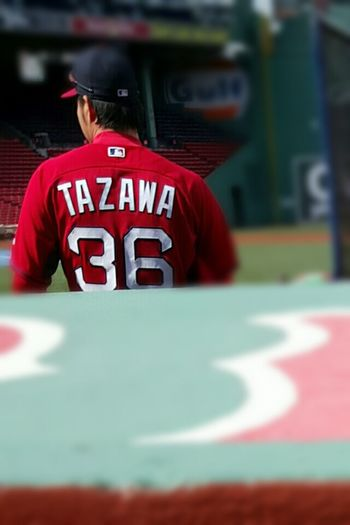 Experimenting Pixlr Blur Boston Red Sox Player No. 36 Taz Fenway Park, Boston S6 The Color Of Sport