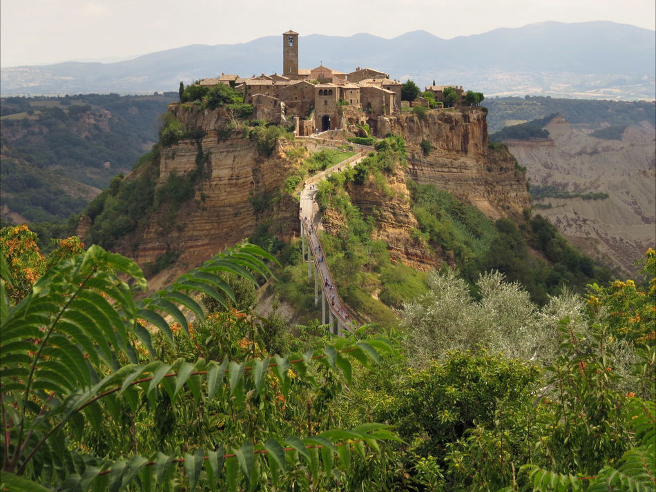 Architecture Beauty In Nature History Landscape_photography Old Village Outdoors Scenics Sheer Cliff Tuff Civita Di Bagnoregio Miles Away