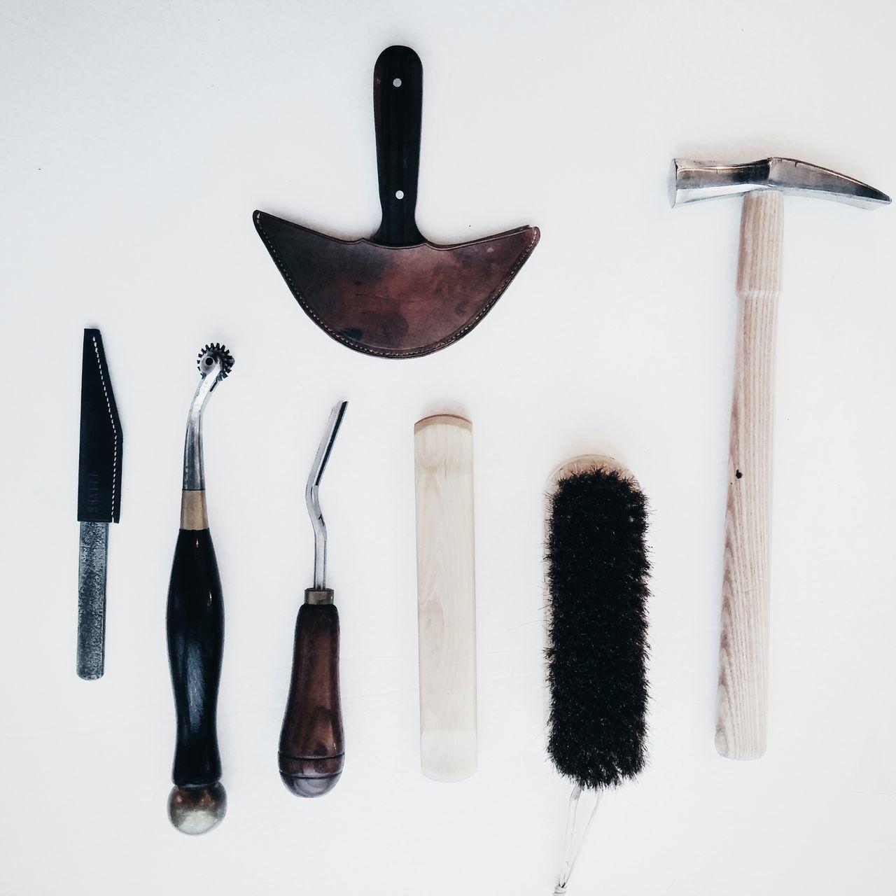 Beautiful stock photos of tools, Arrangement, Brush, Close-up, Cobbler