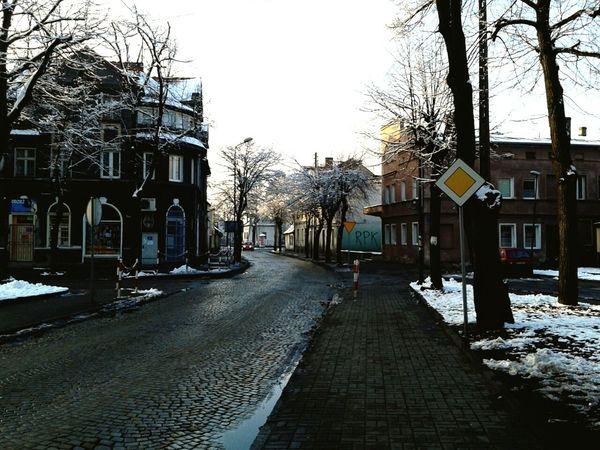 Wintertime Urbanphotography First Eyeem Photo Snow Streetphotography Street City Czerwiensk