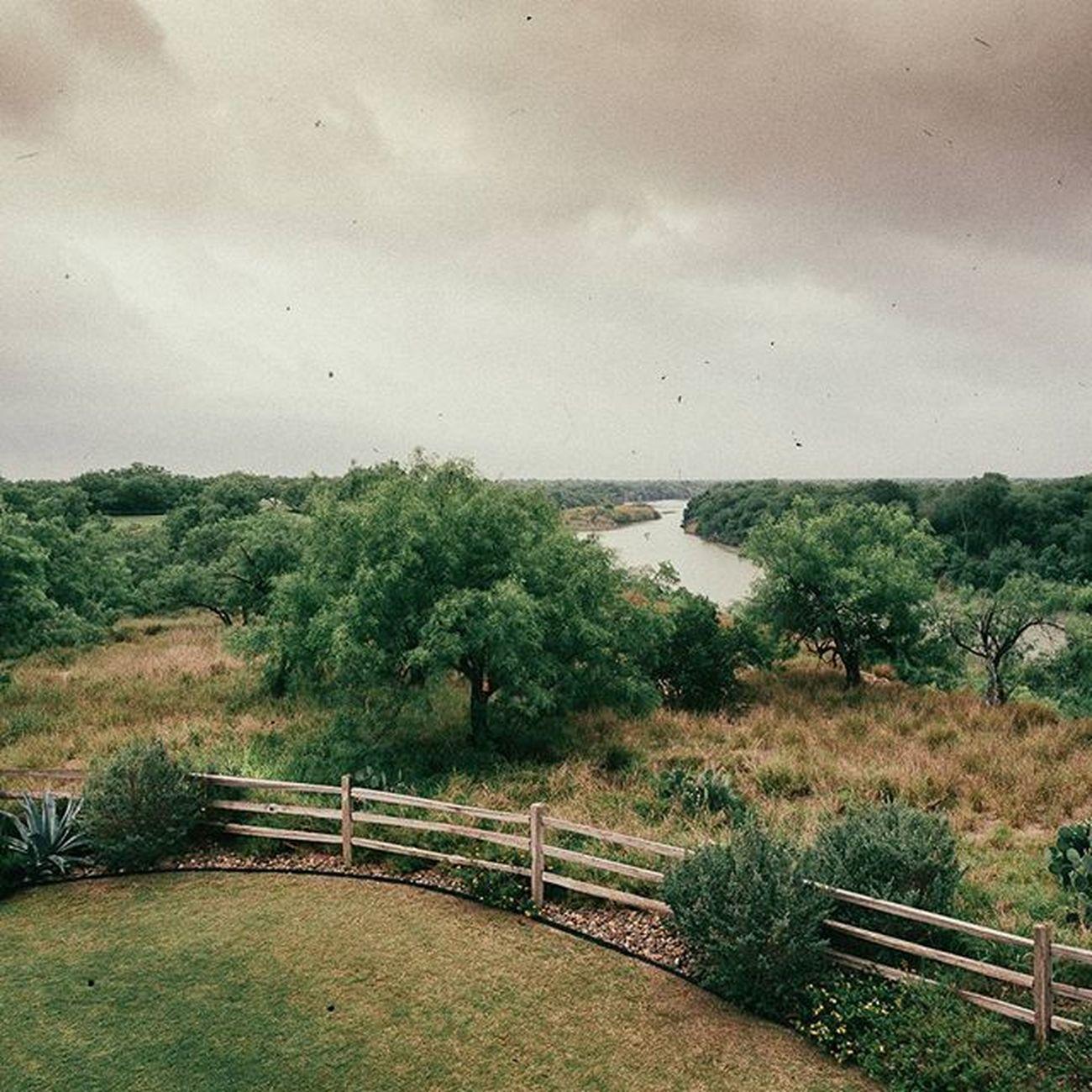 Before the morning rain. Golf Landscape Laredo Border Olympus OM-D E-M5