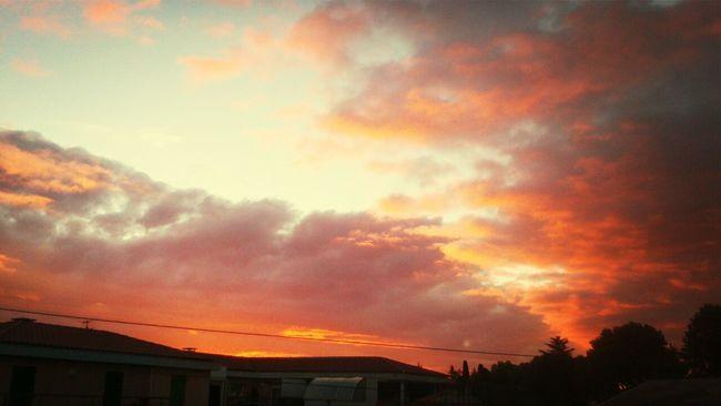 Twilight Sky Levé Du Soleil Crépuscule