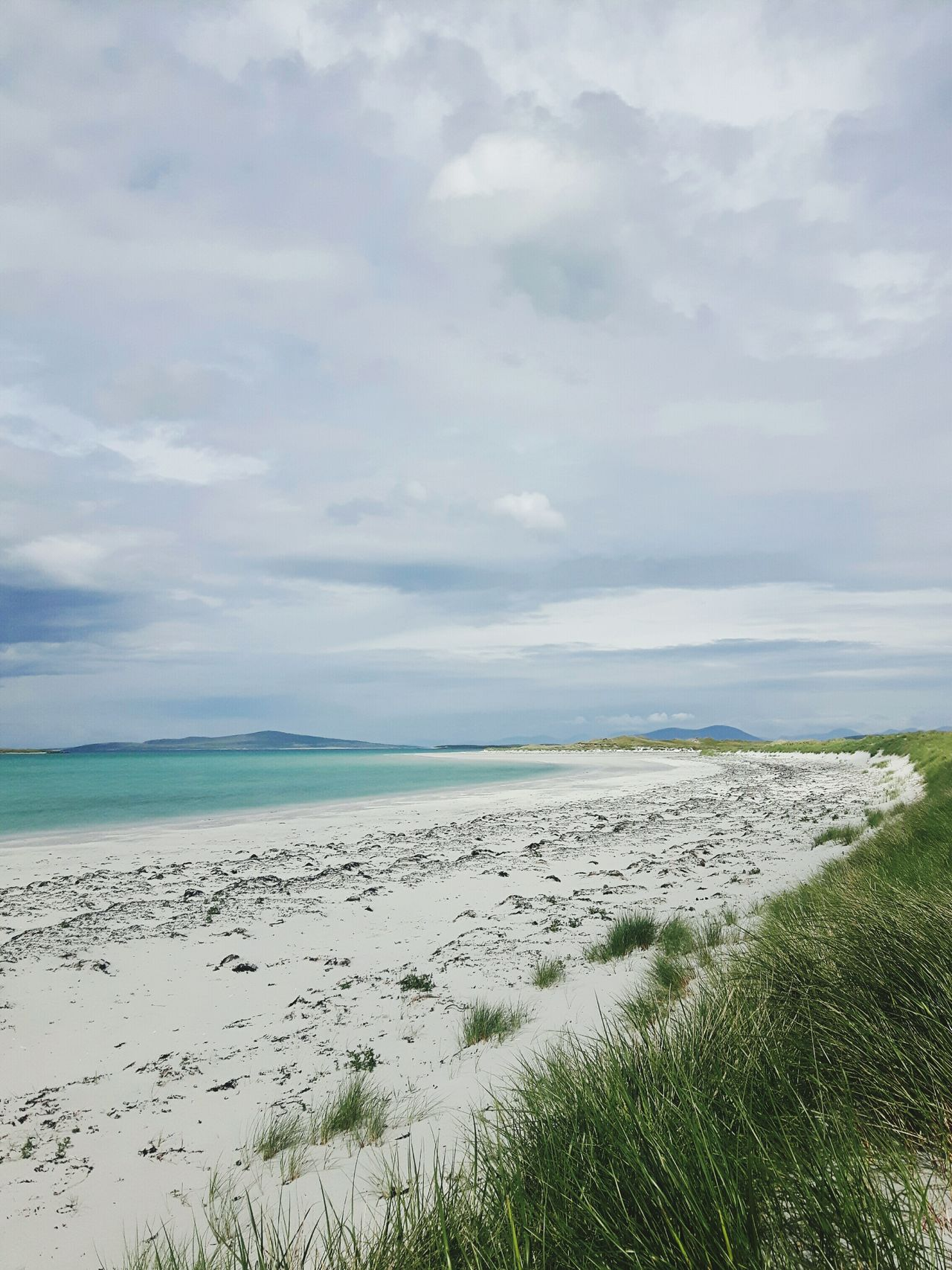 Sea Beach Nature Scottishbeach Clachan Clachansands Traigh Lingeigh Uist Isleofuist Dramatic SkyBeauty In Nature Day Landscape Grass Pastel Colored Sky No People Scottish Isles Hebridies The Great Outdoors - 2017 EyeEm Awards EyeEmNewHere Scotlandlover Scotlandsbeauty Westernisles Outerhebrides Live For The Story