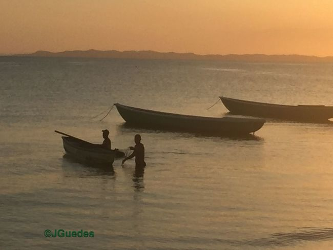 People Of The Oceans Bahia Salvador Brazil Fishermen Bahiadetodosossantos Sunset