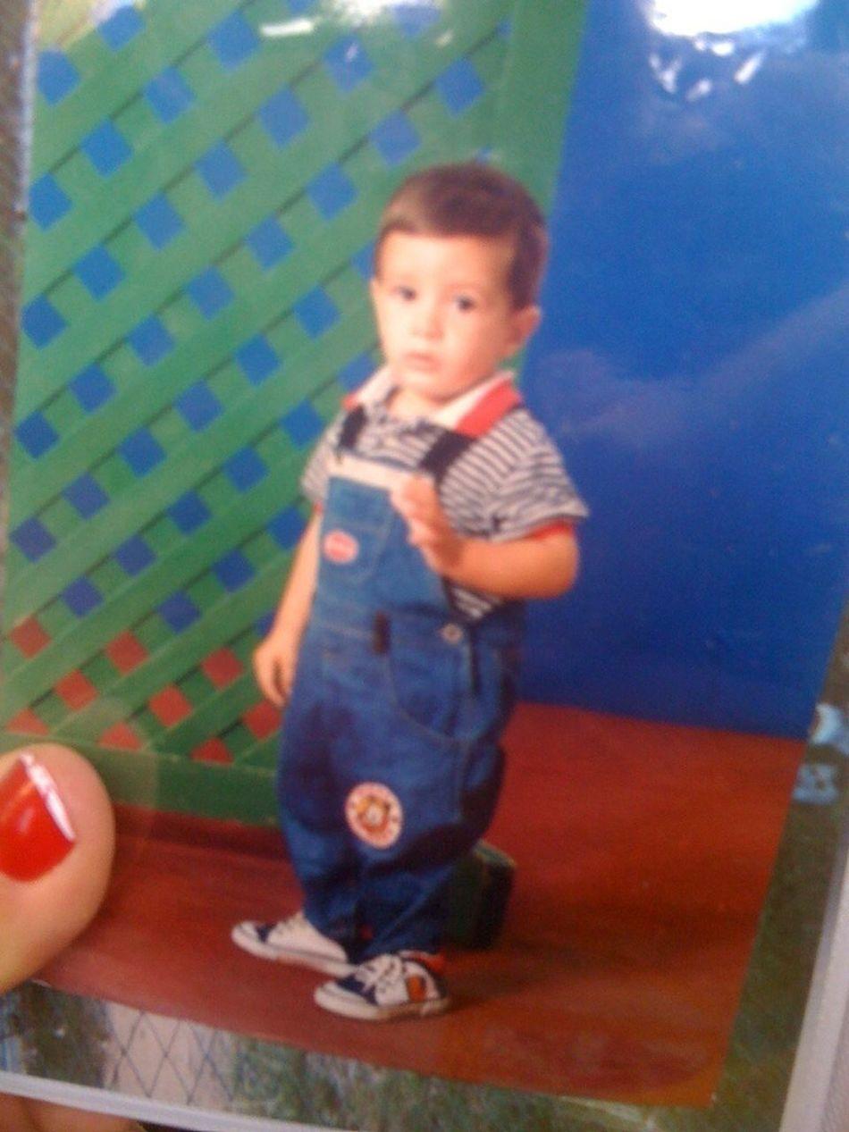 My boyfriend as a baby
