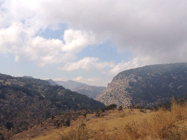 Mountains Lebanon Tannourine North Lebanon