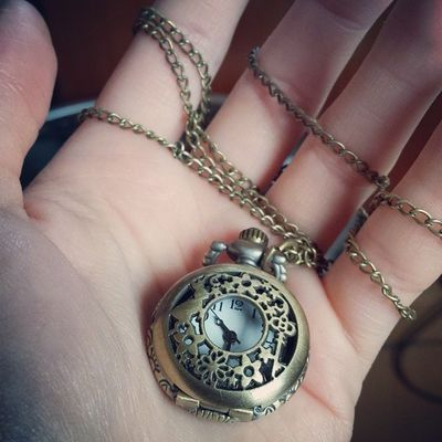 ....not without my magical wonderland pocket watch ?