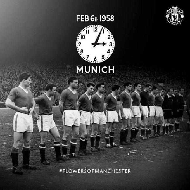 Never forget! Hkig 2014 Manchesterunited Munichairdisaster rip busbybabes