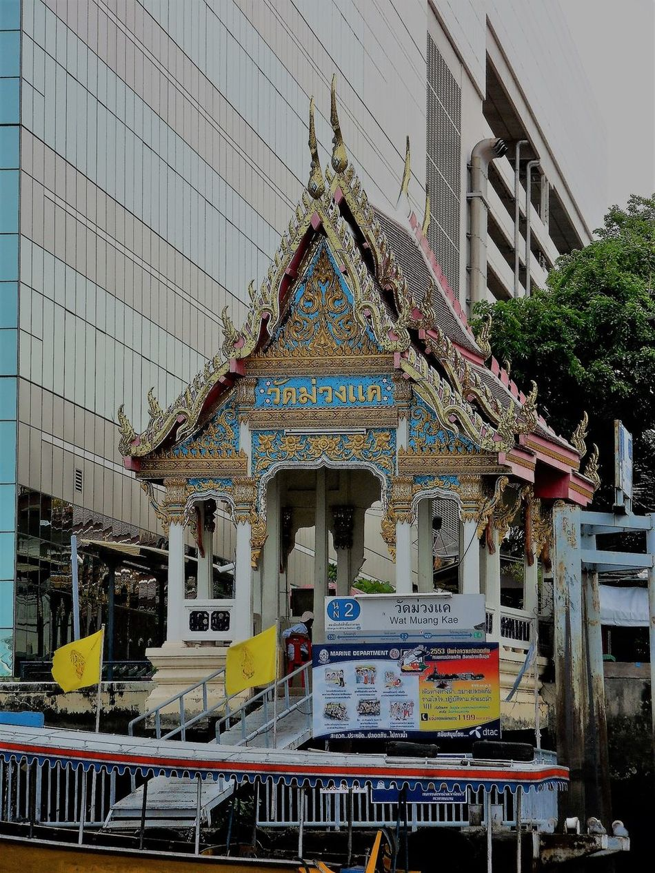 Architecture Bangkok City Bangkok Streetphotography Bangkok Thailand. Building Exterior Built Structure City Day No People Outdoors Place Of Worship Religion Sculpture Sky