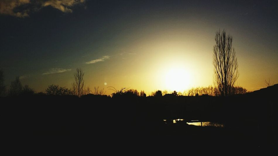 France Sunset Evening Chemenot