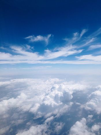 Beauty In Nature Blue Cloud Cloud - Sky Day Idyllic Majestic Nature No People Outdoors Scenics Sky Tranquil Scene Tranquility