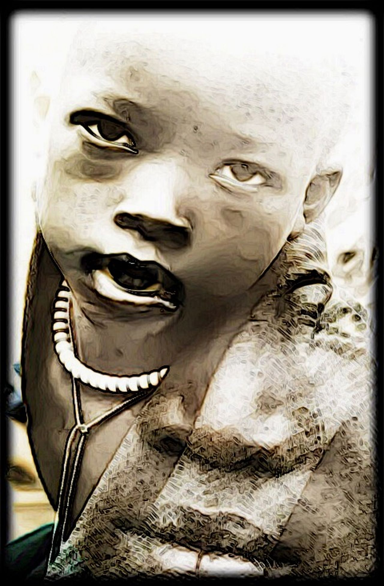 Photographic Approximation Facial Experiments OpenEdit Eradicate Poverty