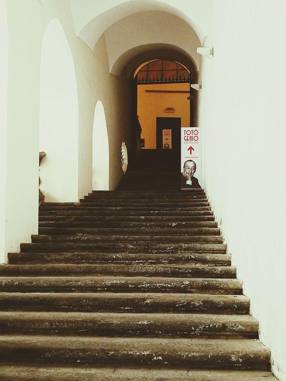 Resist Toto Mostra Napoli ❤ Architecture San Domenico Maggiore Naples, Italy The Secret Spaces