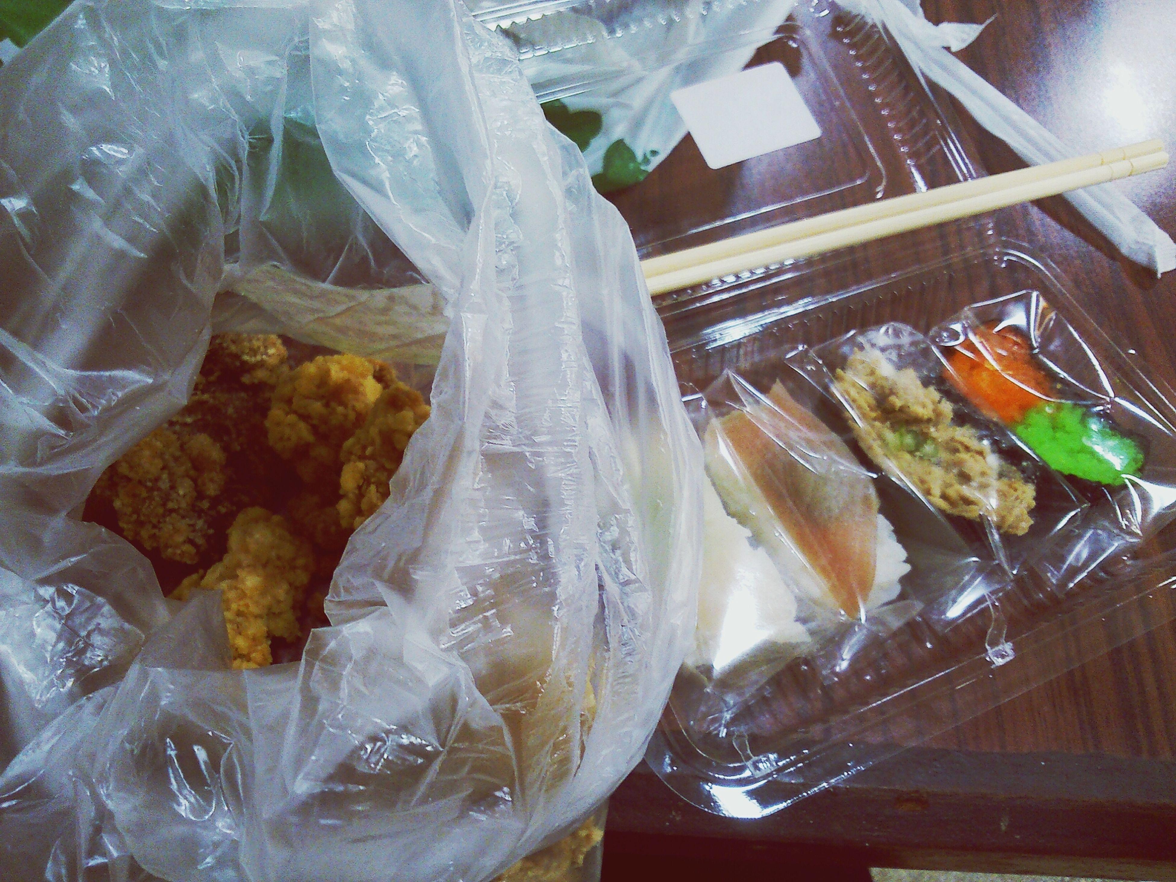 自己的壽司炸物組合餐